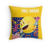 Pac-Man Atari Throw Pillow