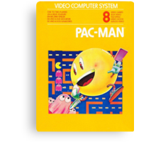 Pac-Man Atari Canvas Print