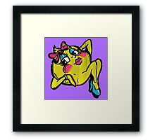 The Ms Pac  Framed Print