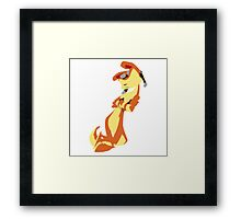 Jak and Daxter-Daxter(No eyes variant) Framed Print
