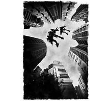Mecha Flight Photographic Print