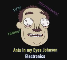 Ants In My Eyes Johnson II Kids Tee