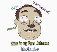Ants In My Eyes Johnson II Kids Tee