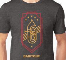 Baritone - Gold & Red Unisex T-Shirt
