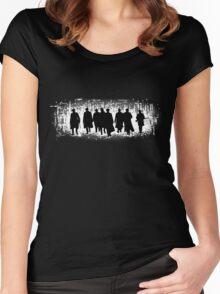 Peaky Blinders Gang Women's Fitted Scoop T-Shirt