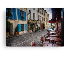 Montmartre, France Canvas Print