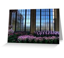 A Lavender View Greeting Card