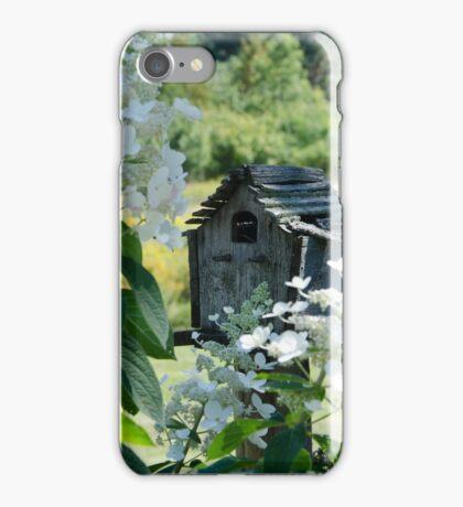 Nestled Bird House iPhone Case/Skin