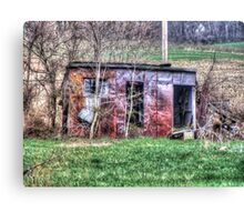 Rusty Shed Canvas Print