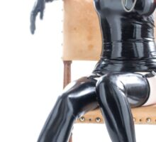 Traped in Fetish-heels Sticker