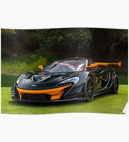 McLaren P1 GTR Poster