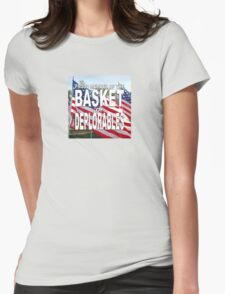 BASKET OF DEPLORABLES Womens Fitted T-Shirt
