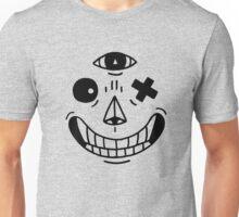 Tres Face Unisex T-Shirt