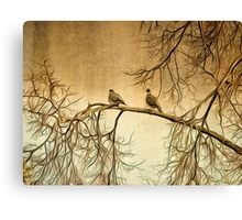 Out On A Limb Canvas Print