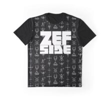 Zef Sigils Design Graphic T-Shirt