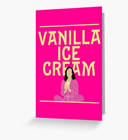Vanilla Ice Cream | She Loves Me Greeting Card