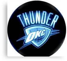Thunder Oklahoma B Canvas Print