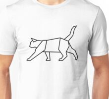 Geometric Cat Unisex T-Shirt