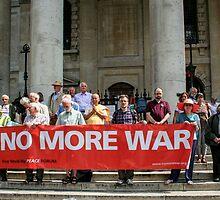 No More War by Christel  Roelandt