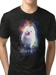 Gabe the Dog - bork Tri-blend T-Shirt