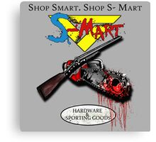 Shop Smart shop S-mart Canvas Print