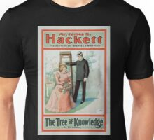 Performing Arts Posters Mr James K Hackett The tree of knowledge by RC Carton 1020 Unisex T-Shirt