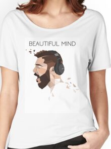 Geometric Bellion Original Women's Relaxed Fit T-Shirt