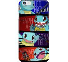 Happy Squirtle Ninjas iPhone Case/Skin