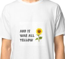 Coldplay-Yellow Classic T-Shirt