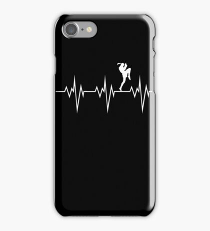 muay thai heart beat thailand martial art iPhone Case/Skin