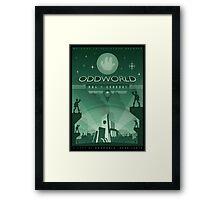 Oddworld: Abe's Exoddus Framed Print