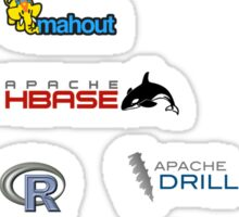apache hadoop ecosystem sticker set Sticker