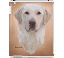 White Labrador Retriever  iPad Case/Skin