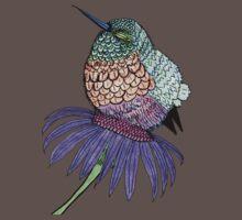 Fluffy Baby Hummingbird Baby Tee