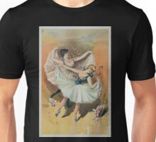 Performing Arts Posters Two ballerinas blond woman in front with brunette woman behind 2920 Unisex T-Shirt