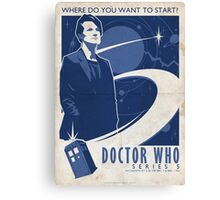 Doctor Who Series 5 Canvas Print