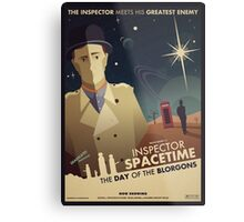 Inspector Spacetime: Day of the Blorgons Metal Print