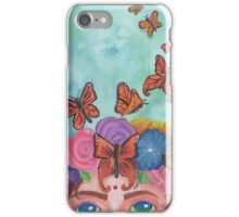 Flight of the Monarchs iPhone Case/Skin