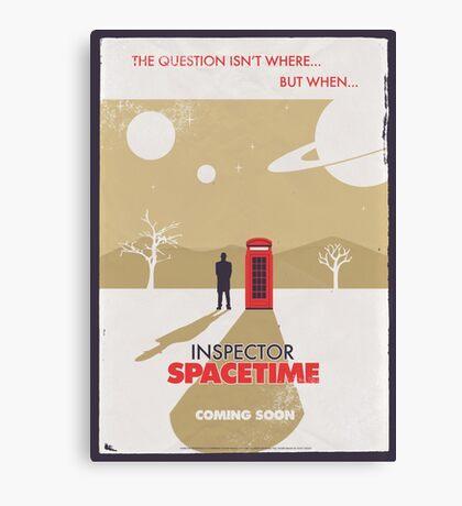 Inspector Spacetime Canvas Print