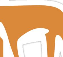 Foxy Pattern Sticker