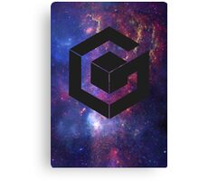 Galaxy Cube Canvas Print