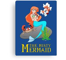 The Misty Mermaid Canvas Print