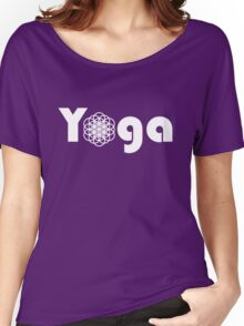 Yoga Flower Of Life Women's Relaxed Fit T-Shirt