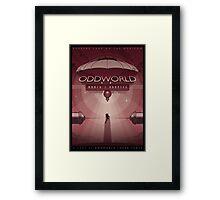 Oddworld: Munch's Oddysee Framed Print