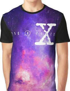 X files galaxy Graphic T-Shirt