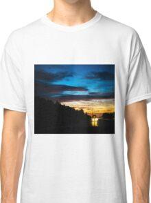 Sunrise On The Road Classic T-Shirt