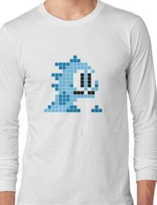 Bubble bobble pixel art Long Sleeve T-Shirt