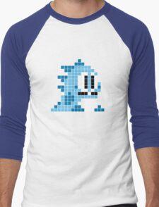 Bubble bobble pixel art Men's Baseball ¾ T-Shirt