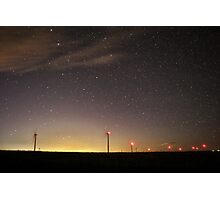 Night Turbines #6 Photographic Print