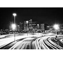 Denver After Dark #7 Photographic Print